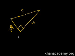 Triangles : Introduction to the Pythagor... Volume Triangles series by Sal Khan