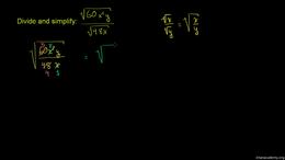 Exponent properties : Multiply and Simpl... Volume Algebra series by Sal Khan