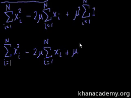 Variance and standard deviation : Statis... Volume Probability and statistics series by Sal Khan