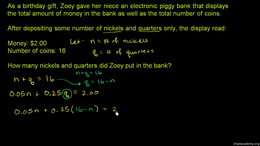 Extra systems of equation practice : Sub... Volume Algebra II series by Sal Khan
