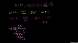 Old Algebra : Ordering Numeric Expressio... by Sal Khan