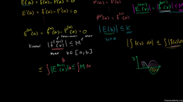 Maclaurin and Taylor series : Proof: Bou... Volume Calculus series by Sal Khan