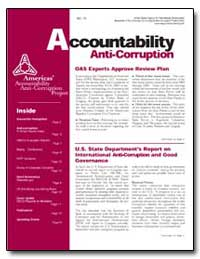 Accountability Anti-Corruption Oas Exper... by Fonte, Pablo