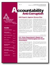 Accountability Anti-Corruption Oas Exper... by Fonte, Pablo