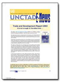 Trade and Development Report 2003 It Is ... by Arda, Mehmet