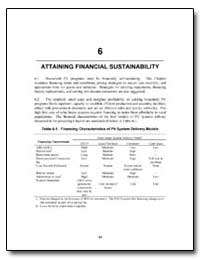 Attaining Financial Sustainability by The World Bank