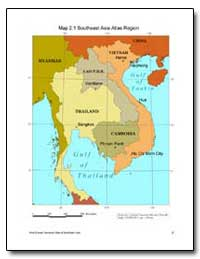 Map 2.1 Southeast Asia Atlas Region by The World Bank