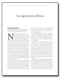 La Experiencia Chilena by The World Bank