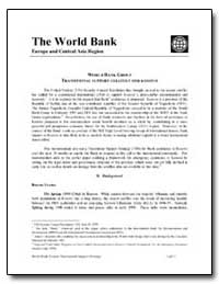 The World Bank Europe and Central Asia R... by The World Bank