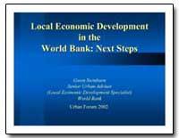 Local Economic Development in the World ... by Swinburn, Gwen