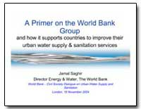 A Primer on the World Bank Group and How... by Saghir, Jamal Amal