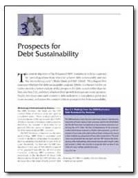 Prospects for Debt Sustainability by The World Bank