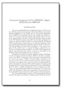 Consortium Groupement L. E. S. I. Dipent... by Obadia, Eloise M.