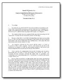 Unofficial Translation Repsol Ypf Ecuado... by Kessler, Judd L.