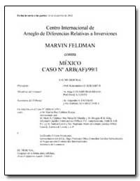 Centro Internacional de Arreglo de Difer... by Kerameus, Konstantinos D.