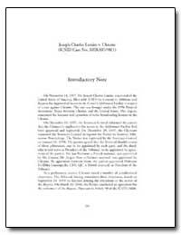 Joseph Charles Lemire V. Ukraine (Icsid ... by Stevens, Margrete
