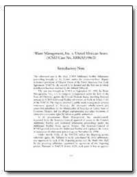 Waste Management, Inc. V. United Mexican... by Flores, Gonzalo