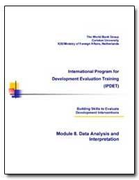 International Program for Development Ev... by Morra-Imas, Linda