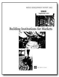 World Development Report 2002 Building I... by Wolfensohn, James D.