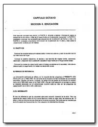 Capitulo Octavo Seccion 4. Educacion by The World Bank