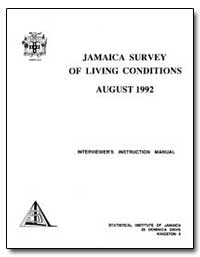 Jamaica Survey of Living Conditions Augu... by The World Bank