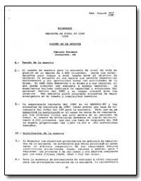Nicaragua Encuesta de Nivel de Vida 1992 by The World Bank