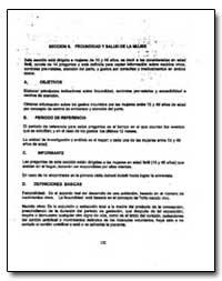 Seccion 6. Fecundid Y Salud de la Mujer by The World Bank