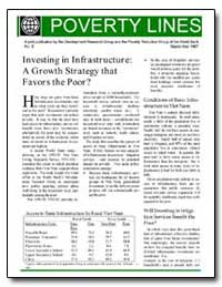 Investing in Infrastructure : A Growth S... by Development Research Group