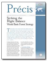 Striking the Right Balance World Bank Fo... by The World Bank