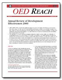 Annual Review of Development Effectivene... by The World Bank