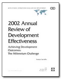 2002 Annual Review of Development Effect... by Carvalho, Soniya