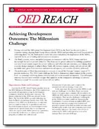 Achieving Development Outcomes : The Mil... by Carvalho, Soniya