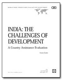 India : The Challenges of Development by Zanini, Gianni