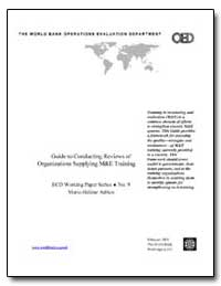 Guide to Conducting Reviews of Organizat... by Adrien, Marie-Helene