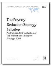 The Poverty Reduction Strategy Initiativ... by The World Bank