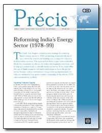 Reforming Indias Energy Sector (197899) by Berney, Richard