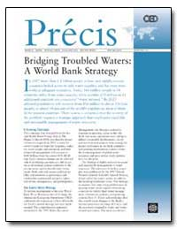 Bridging Troubled Waters : A World Bank ... by The World Bank