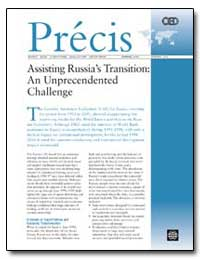 Assisting Russia's Transition : An Unpre... by The World Bank