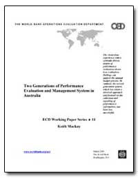 Two Generations of Performance Evaluatio... by Mackay, Keith