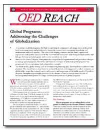 Global Programs : Addressing the Challen... by Lele, Uma