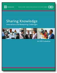 Sharing Knowledge Innovations and Remain... by The World Bank