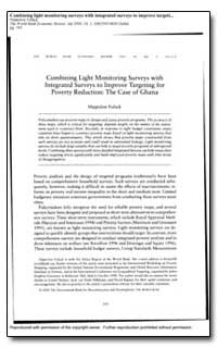 Combining Light Monitoring Surveys with ... by Fofack, Hippolyte