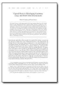 Capital Flows to Developing Countries : ... by Taylor, Mark P.