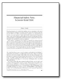 Financial Safety Nets : Lessons from Chi... by Brock, Philip L.