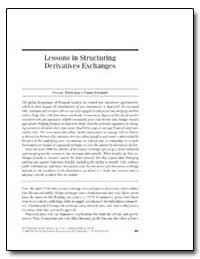 Lessons in Structuring Derivatives Excha... by Tsetsekos, George