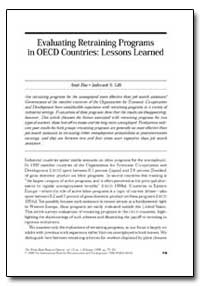 Evaluating Retraining Programs in Oecd C... by Dar, Amit