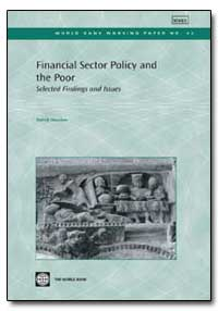 Financial Sector Policy and the Poor by Honohan, Patrick