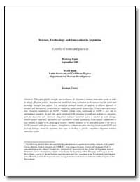 World Bank Latin American and Caribbean ... by Thorn, Kristian