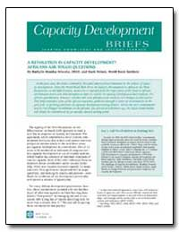 Capacity Development Briefs : A Revoluti... by Missika-Wierzba, Bathylle