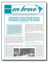 Increasing the Participation of Afrodesc... by Aoki, Joséfina Stubbs Y. Sayo